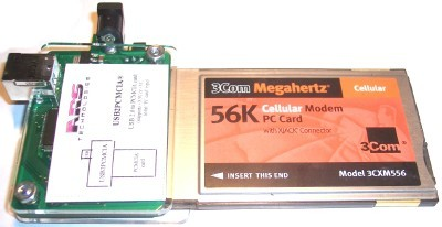 USB 2.0 to PCMCIA card ROHS