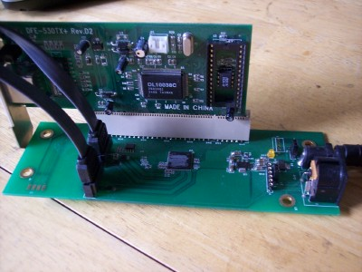 PCI card inserted on xprs-pci-x1