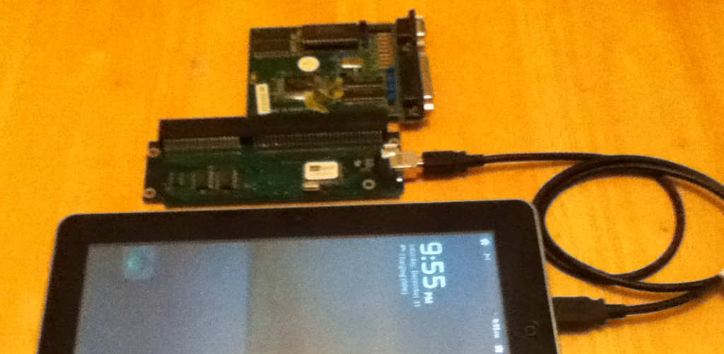 use of USB2ISA with android tablet
